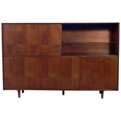 Large-Scale Midcentury Bar Cabinet or Credenza