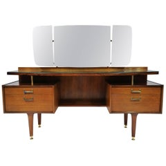 Mid-Century Modern G-Plan Vanity Dressing Table, English, circa 1960