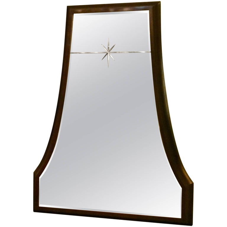 "Modern ""Grand Starlight"" Mirror by Barbara Barry for Henredon Furniture"