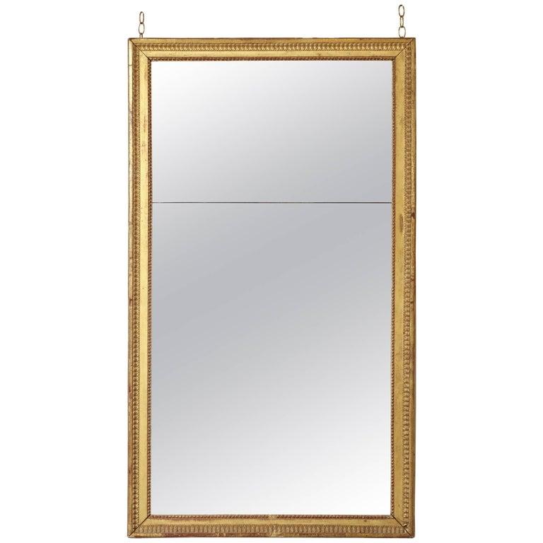 Gilded Louis XVI Mirror, circa 1780