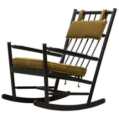 Shaker Style Black Rocking Chair