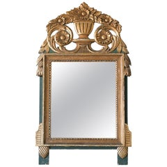 Antique French Provincial Gilt Mirror