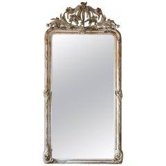 Crested Antique Mirror, 1800