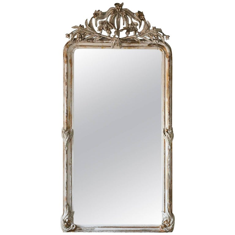 Crested Antique Mirror, 1800