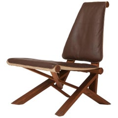 "Pierre Chapo ""Dromadaire"" Lounge Chair"