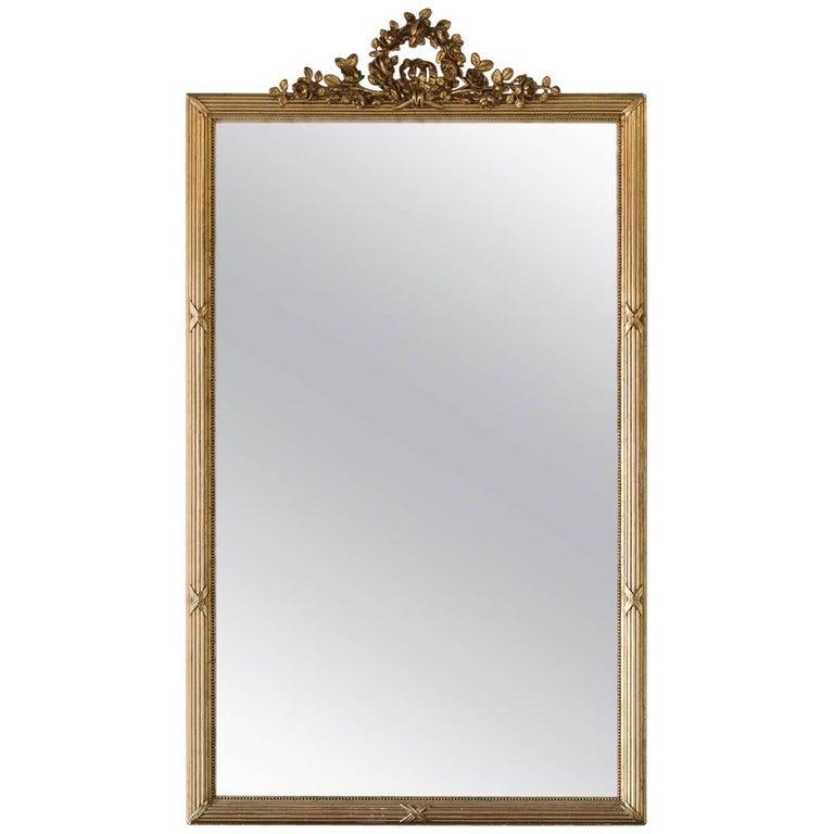 Chic Antique Mirror, circa 1850