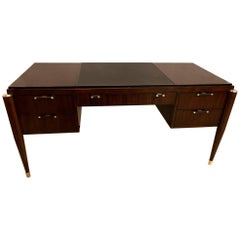 Ralph Lauren Art Deco Fashioned Mahogany Writing Desk