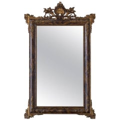 Elaborate Antique Mirror, circa 1900