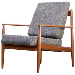 1960s Grete Jalk 'Model 118' Lounge Easy Fauteuil for France & Son