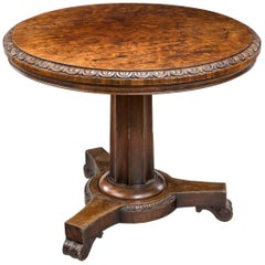 Regency Period Centre Table