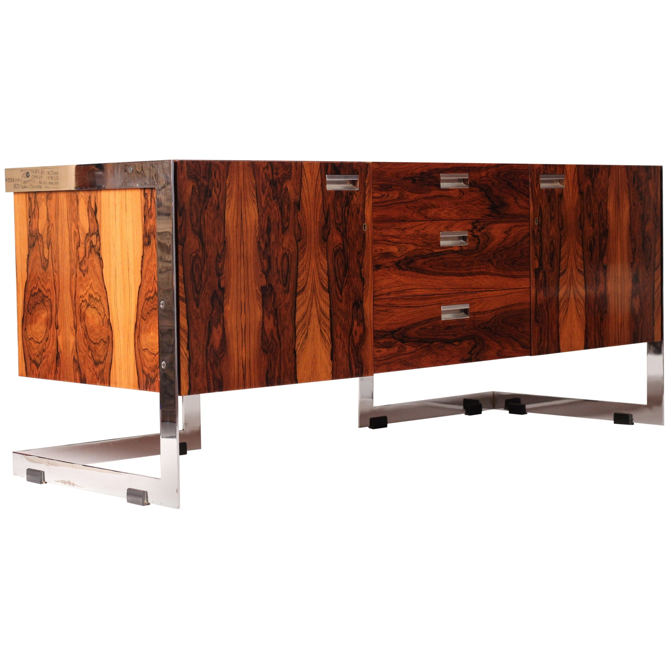 Midcentury Rosewood Sideboard Designed by Richard Young for Merrow Associates