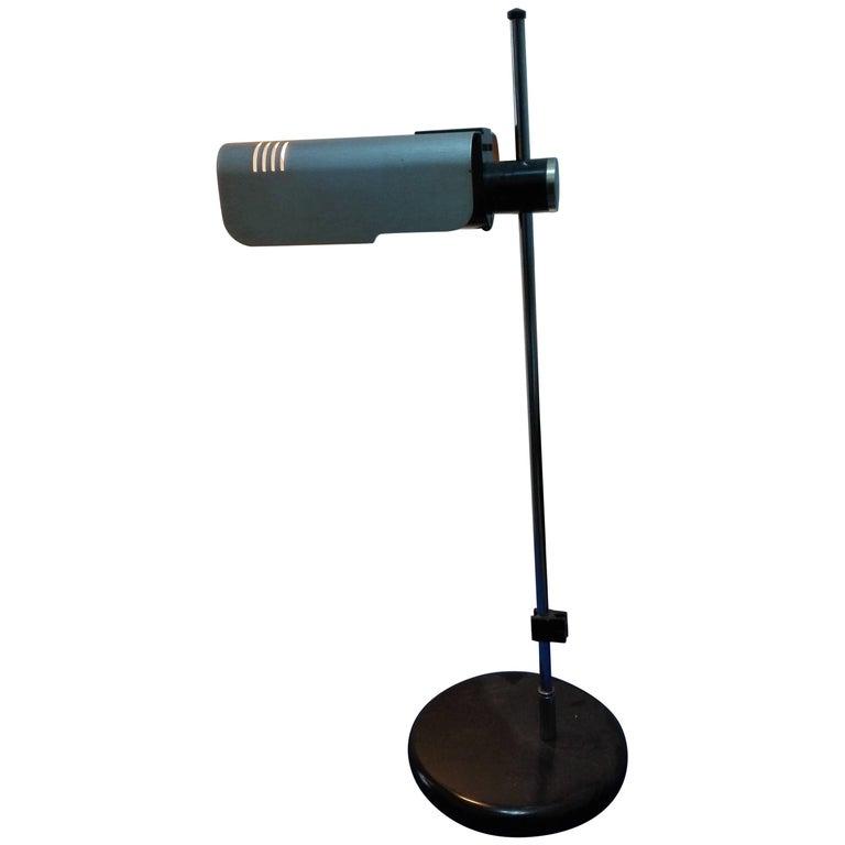 Italian Metal Desk Lamp, Sankey Targetti, 1960s