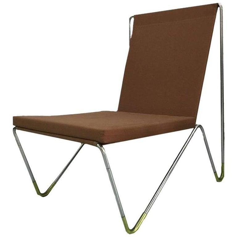 Panton Verner Bachelor Chair/Brown
