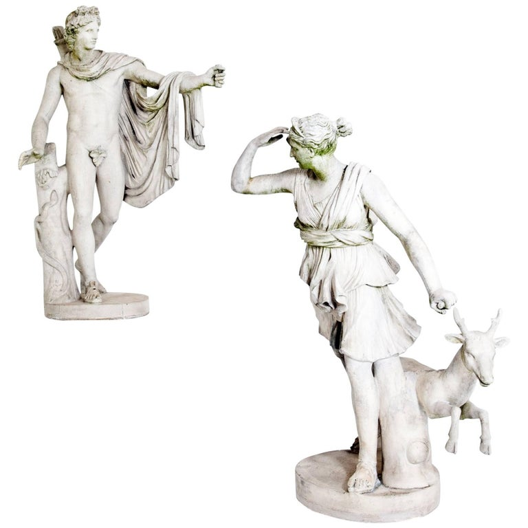 Diana and Apollo, France, Second Half of the 19th Century