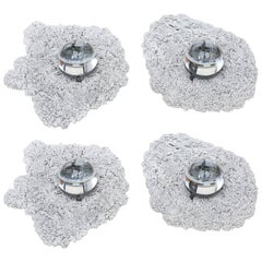 Silvered Caviar Sconces Wall lamps by Chen & Williams