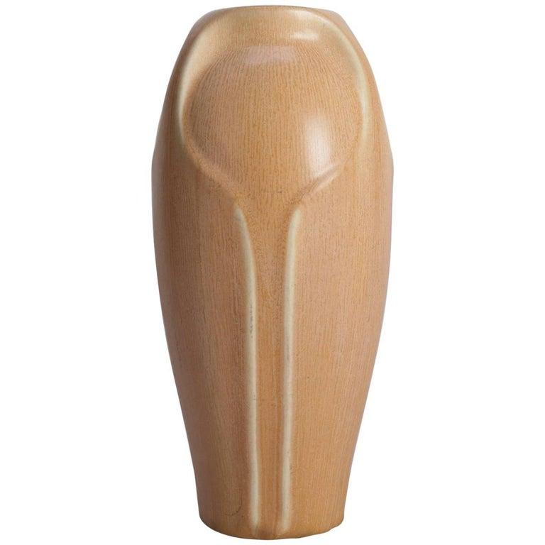 Antique Arts & Crafts Rookwood Art Pottery Tall Vase, XXV 2404, 1925