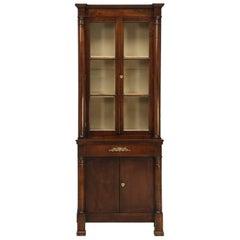 Empire Petite Bookcase, circa Early 1800s