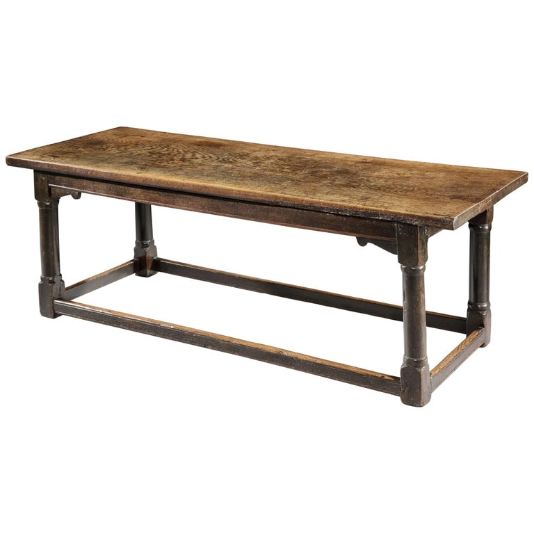 Remarkable Early Refectory Table