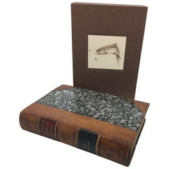 Complete Angler by Isaak Walton, Period Leather Binding, circa 1856