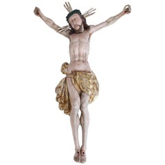 Baroque Sculpture of Jesus Christ, Germany, 18th Century