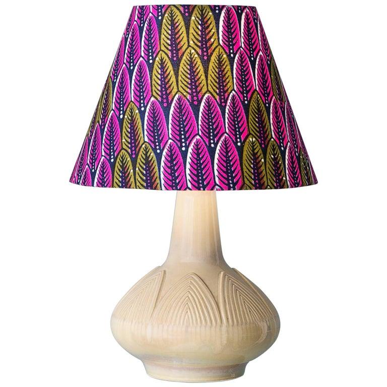 Vintage Søholm Ceramic Table Lamp