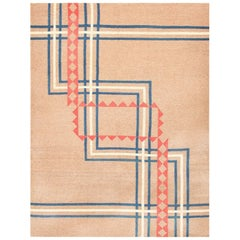 Art Deco Kilim from India