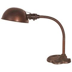 Original Vintage Gooseneck Desk Lamp