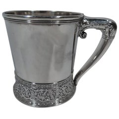 Antique Gorham Aesthetic Sterling Silver Baby Cup