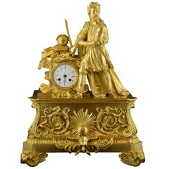 Table Clock, Ormolu, 19th Century