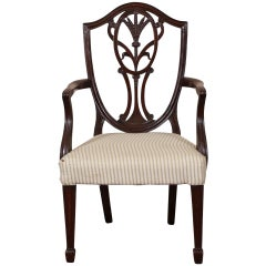 Antique Mahogany Child's Chair