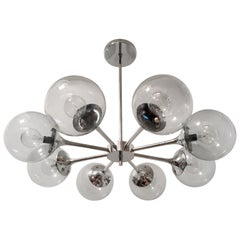 Lightolier American 1960s Space Age Sputnik Pendant