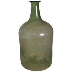 19th Century Mouth Blown Wine Bottle