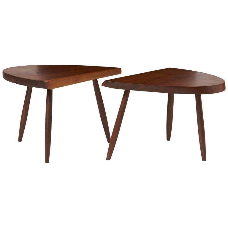Pair of Phillip Lloyd Powell Coffee Tables For Sale