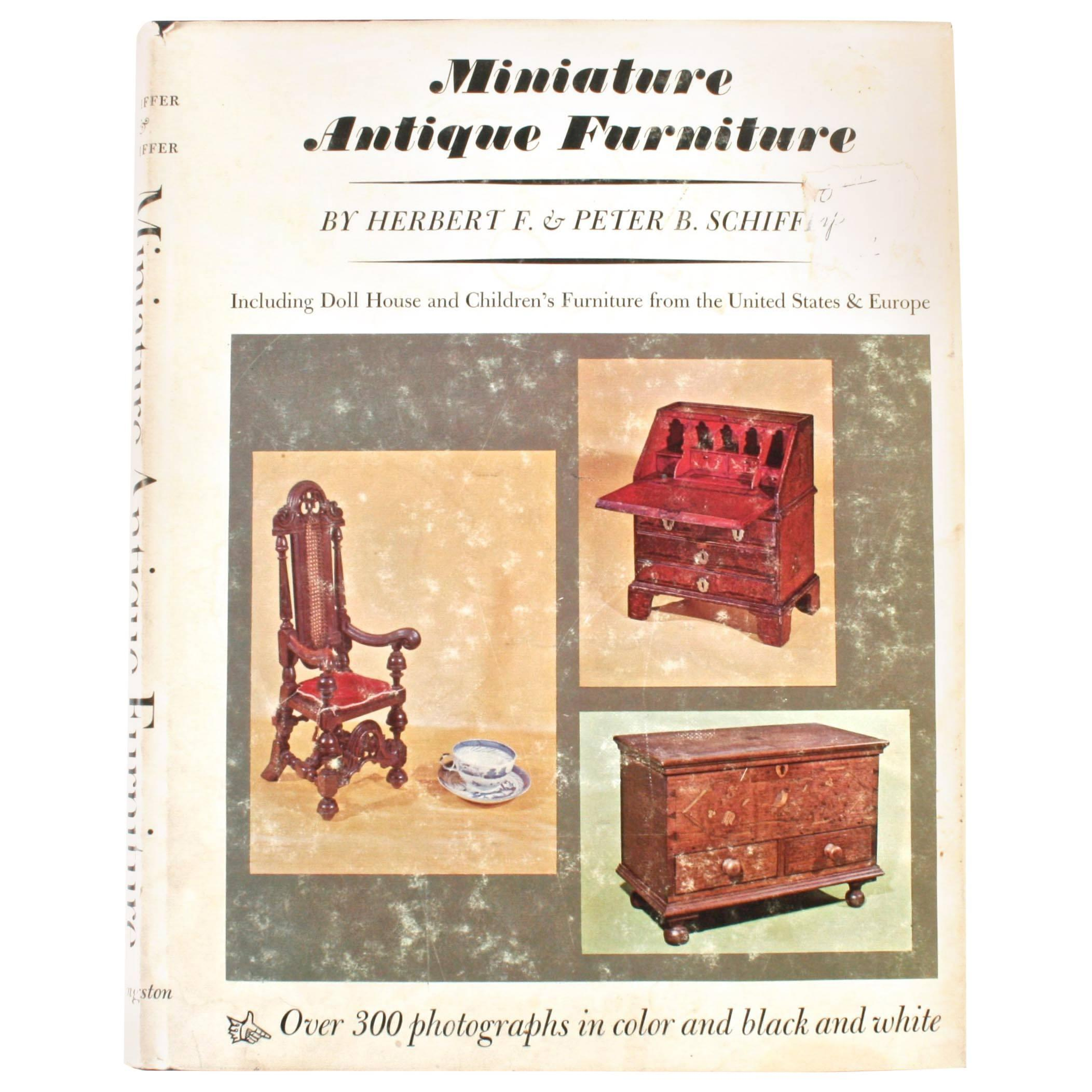 Miniature Antique Furniture, First Edition
