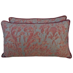 Pair of Lucrezia Patterned Fortuny Pillows