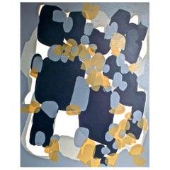 Raoul Ubac Surrealist Abstract Screen Print