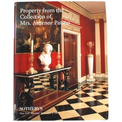 Sotheby's Auction Catalogue: Property from the Collection of Mrs. Antenor Patiño