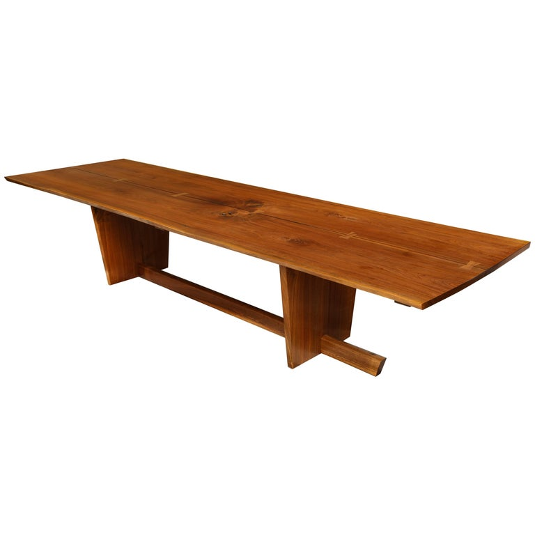 Minguren II Dining Table by Mira Nakashima For Sale