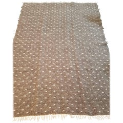 Italian Wool Coverlet or Throw