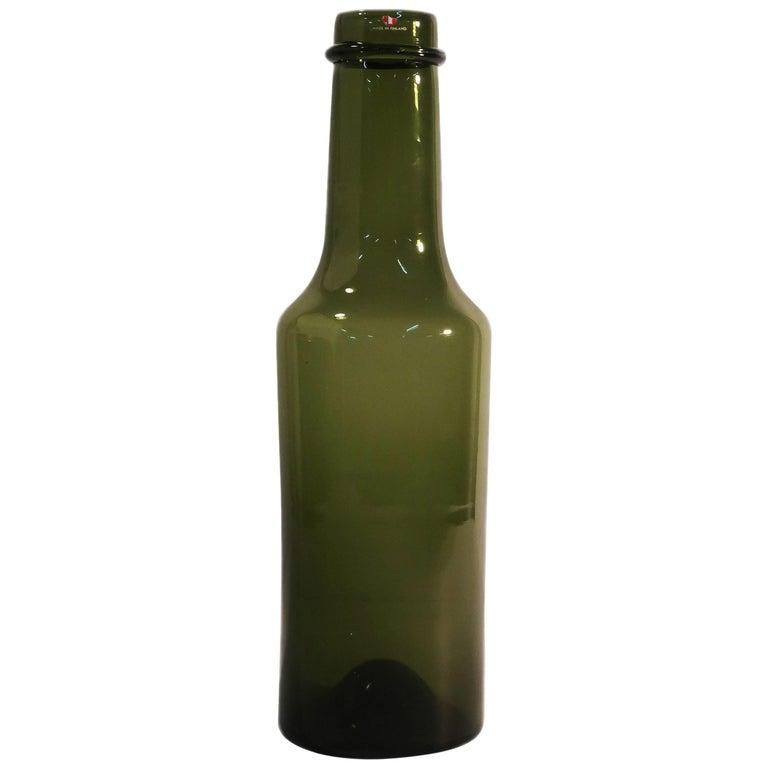Tapio Wirkkala Green Vase for Iittala