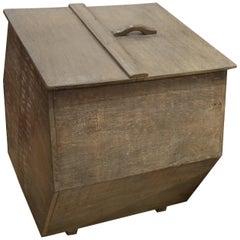 Andrianna Shamaris Wabi-Sabi Teak Wood Container