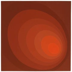 "Leonid ""Untitled (Red Ombre)"" Silkscreen"