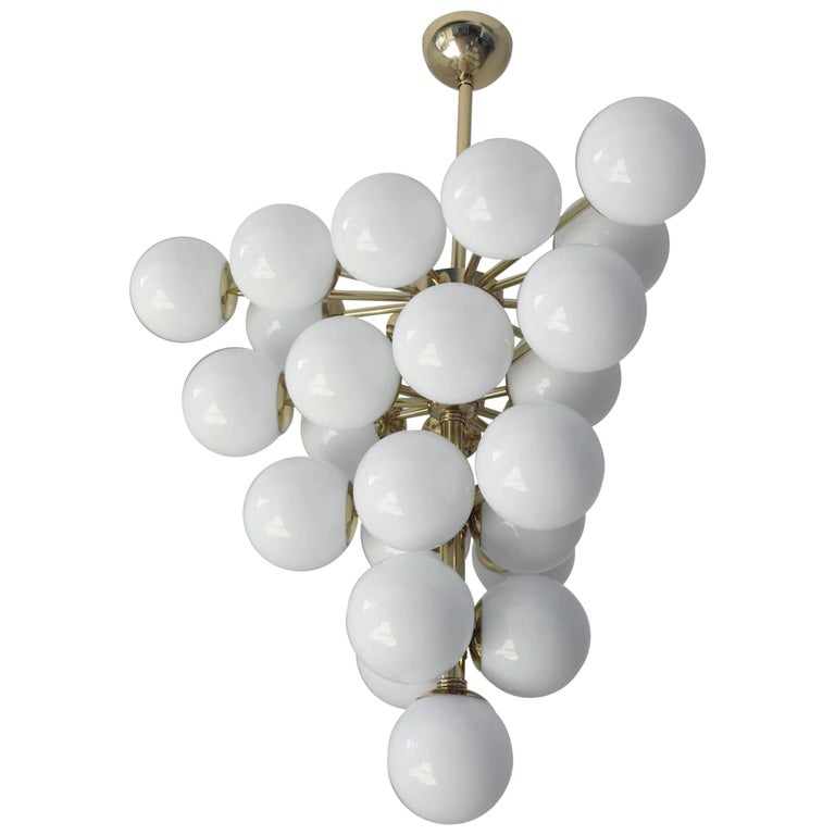 White Grapes Chandelier