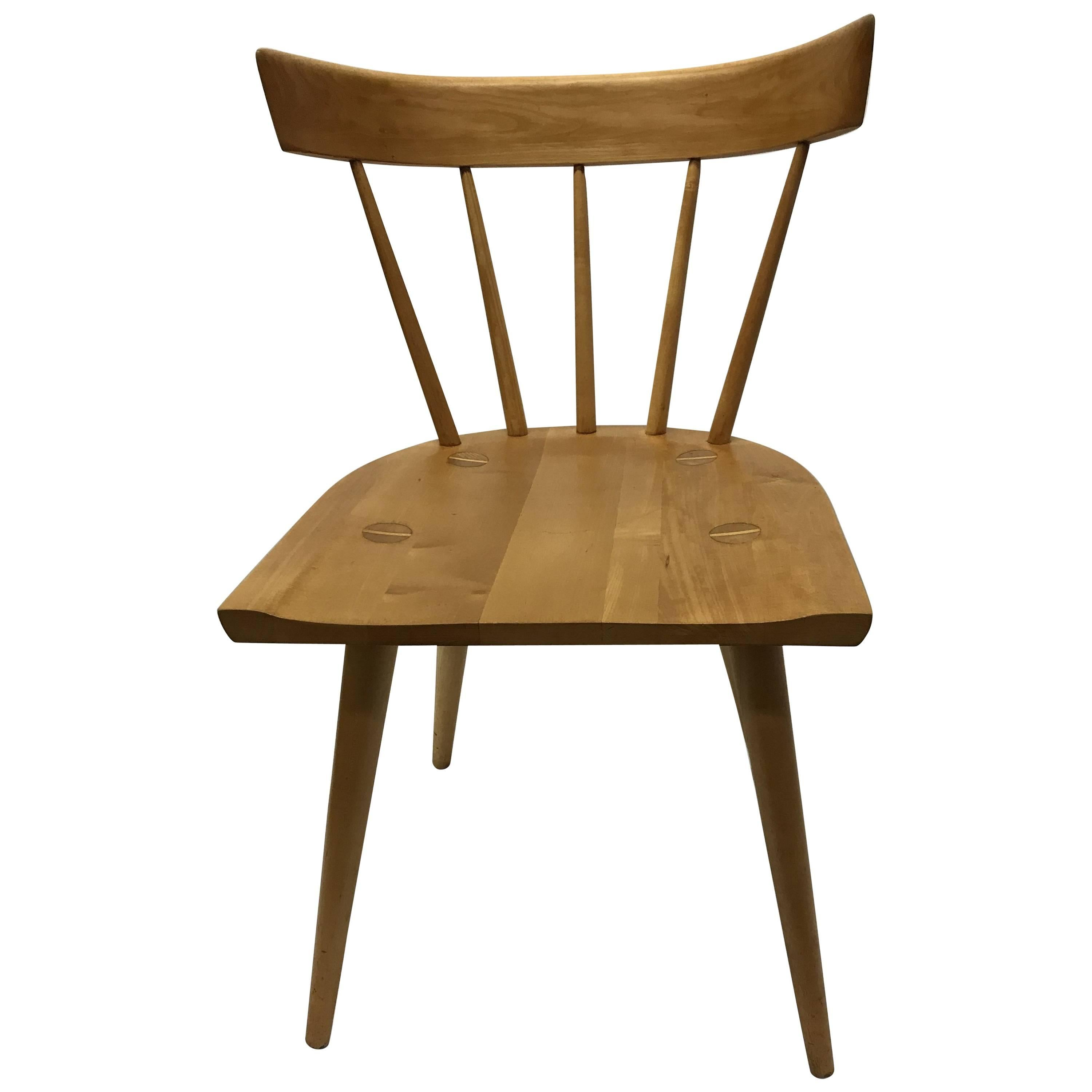 Paul McCobb Planner Group Spindle Back Chair For Sale