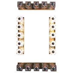 Cubes Murano Wall Sconce