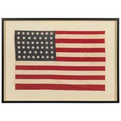 46 Star American Flag Linear Dancing Stars