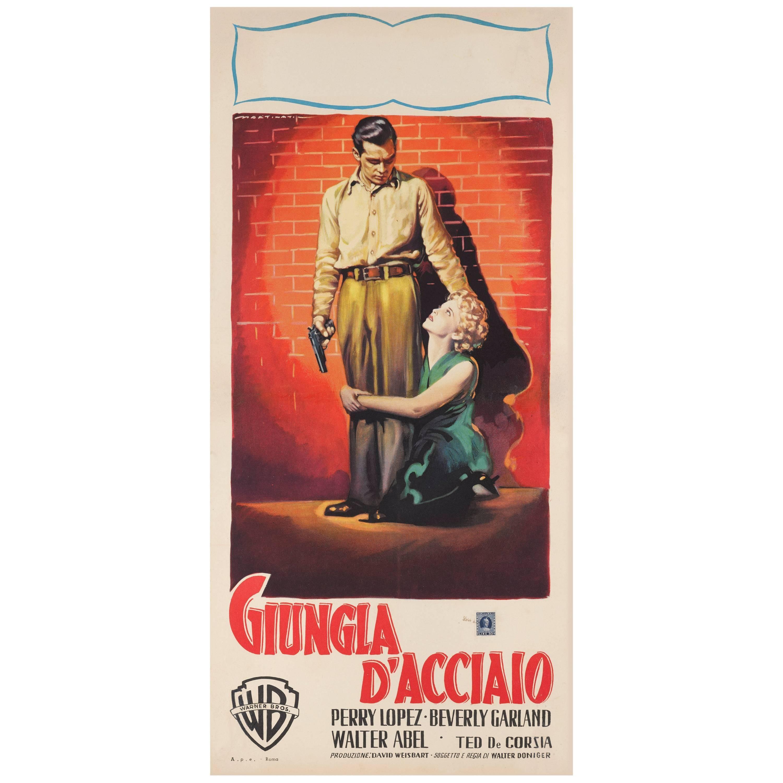 'Steel Jungle / Giungla D'acciaio' Italian Movie Poster