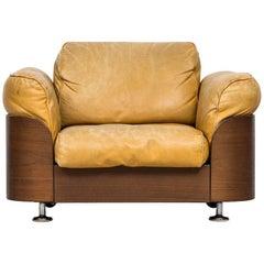 Rare Easy Chair Produced by Hämeen Kalustaja in Finland