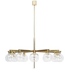 Ceiling Lamp Model T-348/12 Designed by Hans-Agne Jakobsson