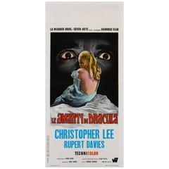 """""""Dracula Has Risen from the Grave / Le Amanti Di Dracula"""" Italian Movie Poster"""